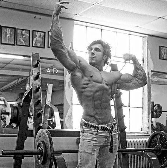 """New Gym Muscle Bodybuilding Black Leather Fitness Lifting: """"New Old School"""" Physique: Artemus Dolgin!"""