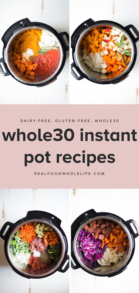 16 Easy Whole30 Recipes to Throw into Your Instant Pot | Real Food Whole Life