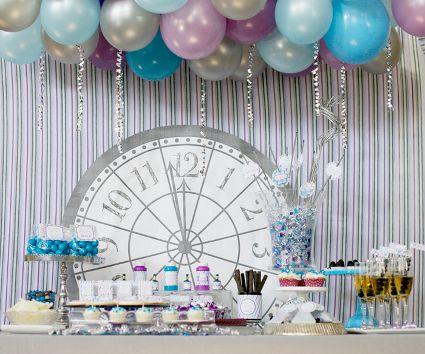 Ideas para decorar la mesa en Año Nuevo