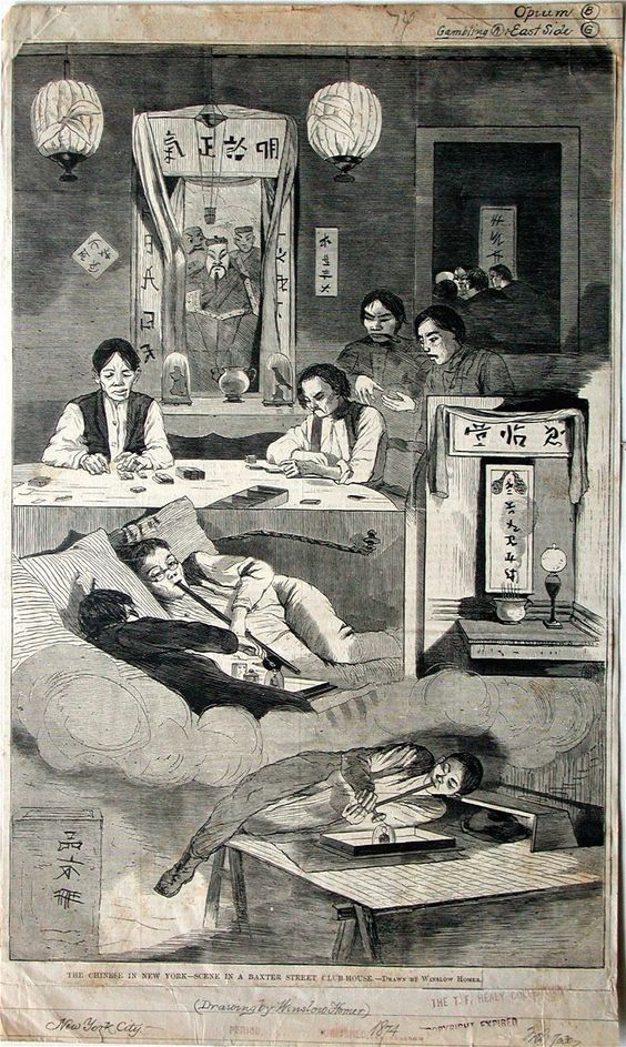 NEW YORK CITY OPIUM DEN Baxter Street Club House, New York ...