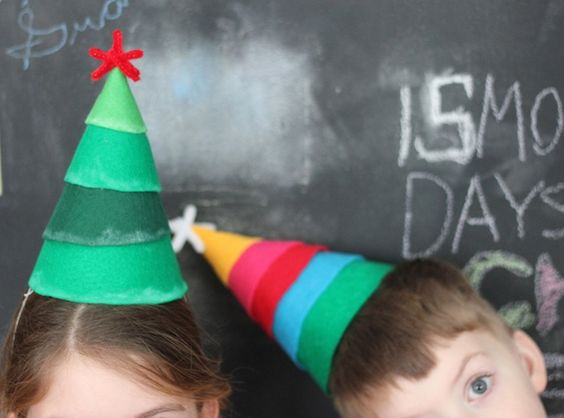 Party Hat Christmas Trees!!
