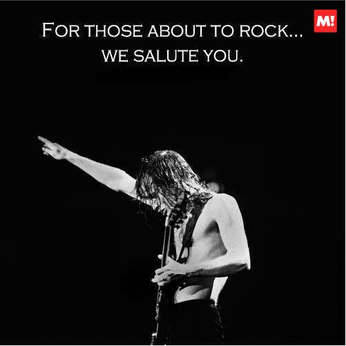 Para todos aquellos que van a rockear, los saludamos!!! Quién dijo esta frase épica?