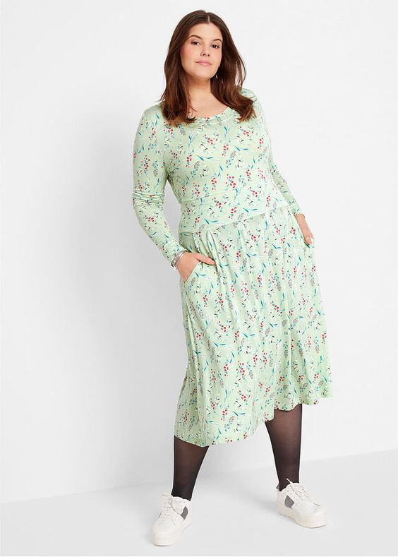 44 Plus Size Outfits To Rock Your Spring Style outfit fashion casualoutfit fashiontrends