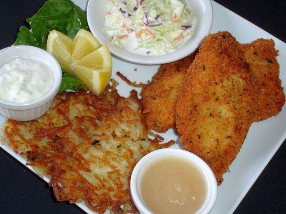 Kurt 39 s steakhouse delafield wi sicilian breaded cod fish for Best fish fry in wisconsin