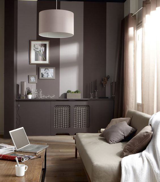 papier peint brun taupe deco sympa pinterest taupe ps et bricolage. Black Bedroom Furniture Sets. Home Design Ideas
