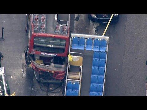 Doppeldecker in Manhattan verunglückt: Verletzte bei Bus-Unfall auf Times Square