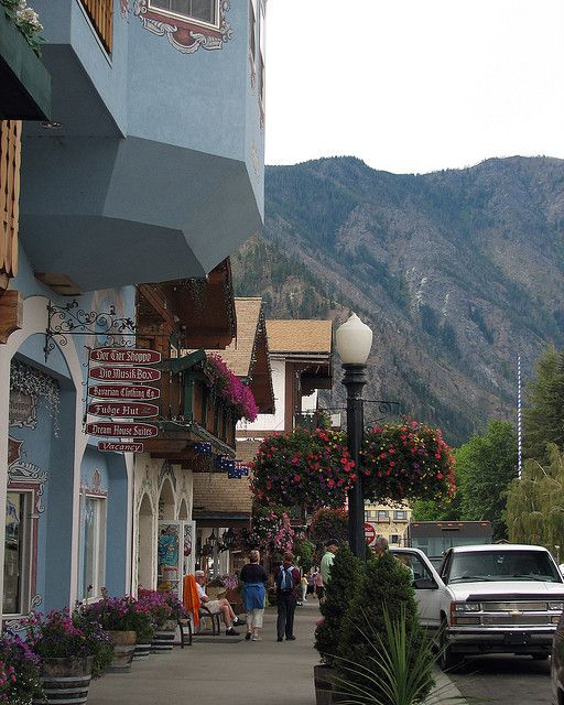 Front Street - Leavenworth, Washington