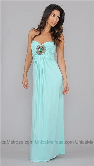 Sky mint maxi dress super cute for summer!  my future wedding ...