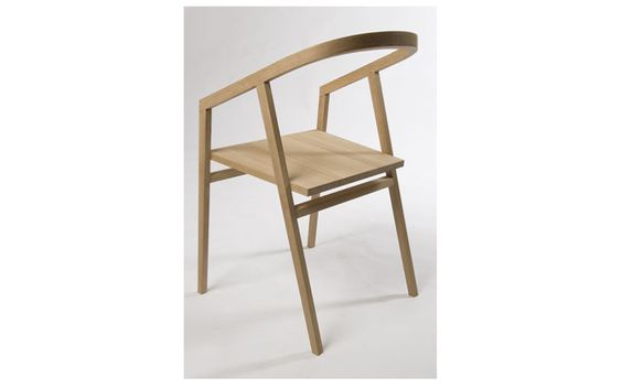 Chair made by a student at the David Savage woodworking school