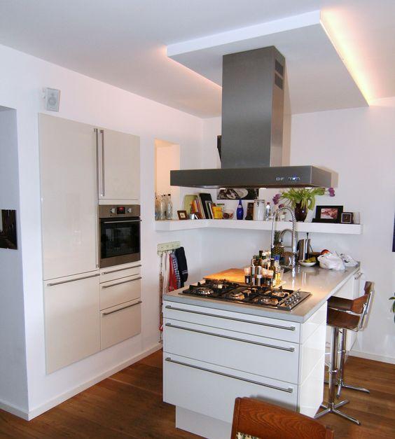 küche mit kochinsel klein - google-suche | kitchen ideas, Hause deko