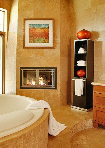 Luxury Master Suite Amenities Fireplaces Master Bath