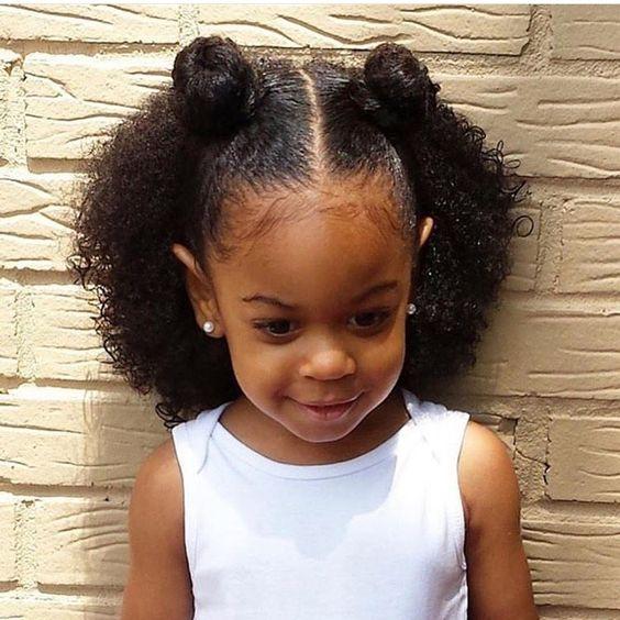 Adorable baby girl... teamblackhurromg http://www.shorthaircutsforblackwomen.com/hair-steamers-for-natural-hair/
