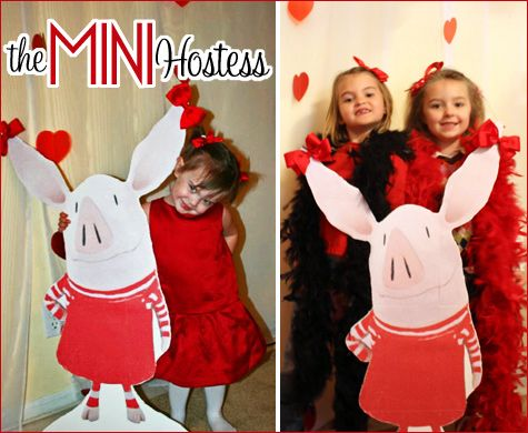 """REAL PARTIES: """"Olivia the Pig"""" Theme"""