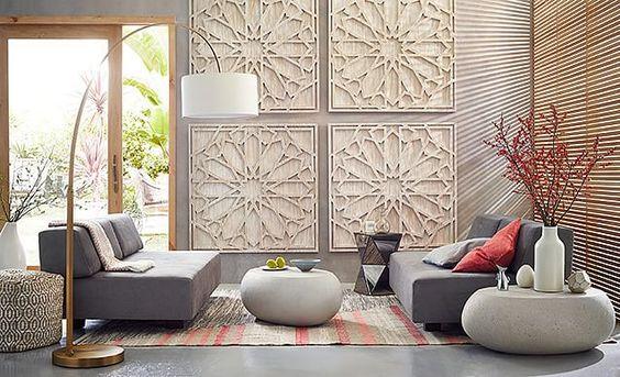 love the West Elm Modern Moroccan Living Room on westelm.com/