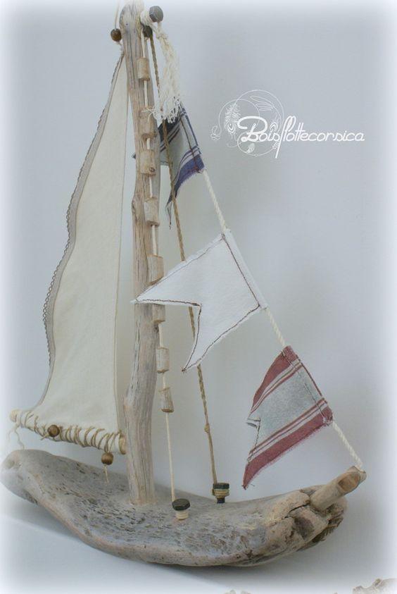 Pinterest the world s catalog of ideas for Bateau bois flotte