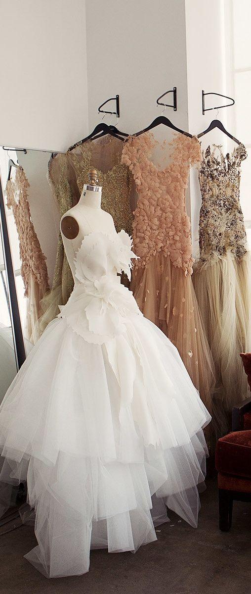 Marchesa | Studio in Chelsea | Cofounders Georgina Chapman & Keren Craig's Dresses Come to Life