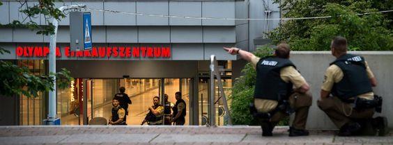 Schüsse am Olympia-Einkaufszentrum: Totein München - Großfahndung in derganzen Stadt