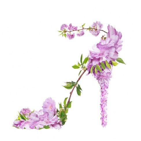 Die wohl schönsten, untragbarsten Schuhe der Welt #twbm #flower #shoe #blumen #high heel