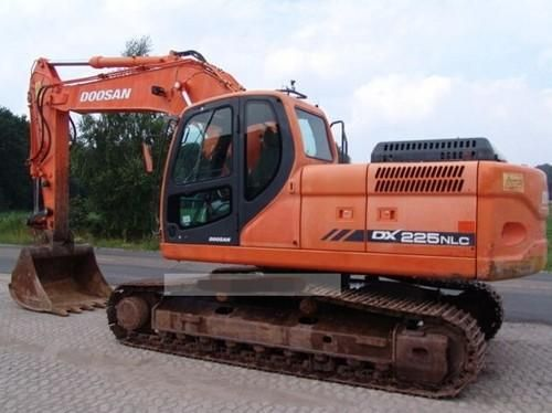 Daewoo Doosan Dx225nlc Track Excavator Workshop Service Repair Manual Sn From 5001 Download Pdf Excavator Daewoo Repair Manuals