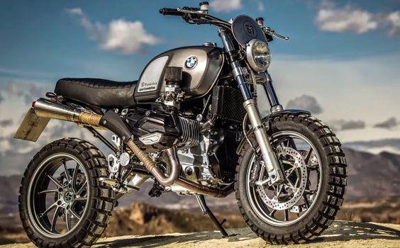 pinterest.com/fra411 #classic #motorbike - RocketGarage Cafe Racer: Big Scrambler