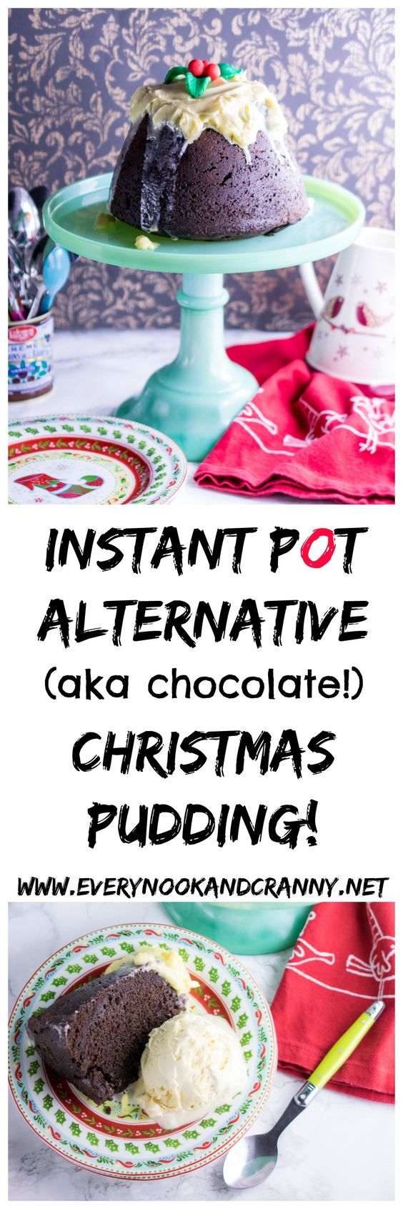 Now, as much as I love a traditional Christmas Pudding full of rich boozy dried fruits, aromatic with the scent of the season,mixed spice, and I've evenconverted the haters in myfamily with my