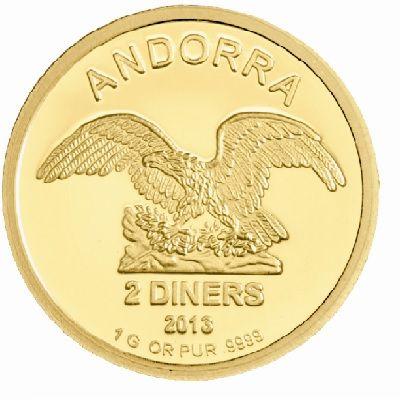 Kaufen Sie Goldmünzen stets zum besten Preis. Vergleichen Sie jetzt sorgfältig die Andorra Eagle Goldmünze bei Gold-Preisvergleich.com