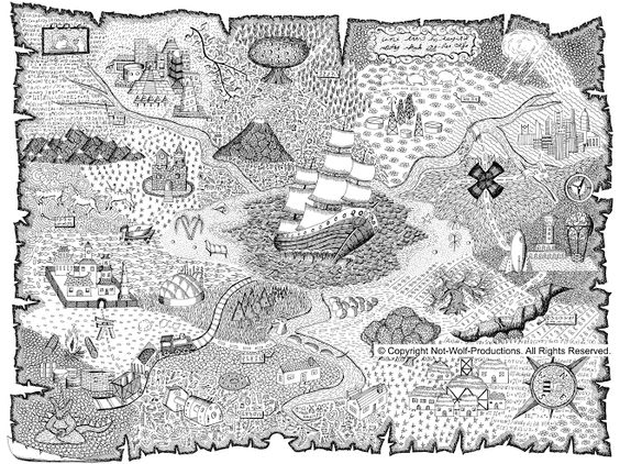 """Not-Wolf-Productions - """"Treasure Map"""""""