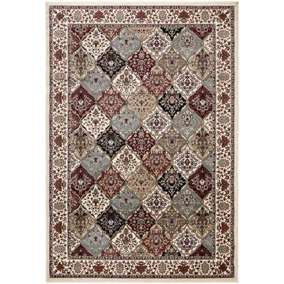 """Ottomanson Regal Traditional Persian All-Over Pattern Beige Area Rug Rug Size: 5'3"""" x 7'7"""""""