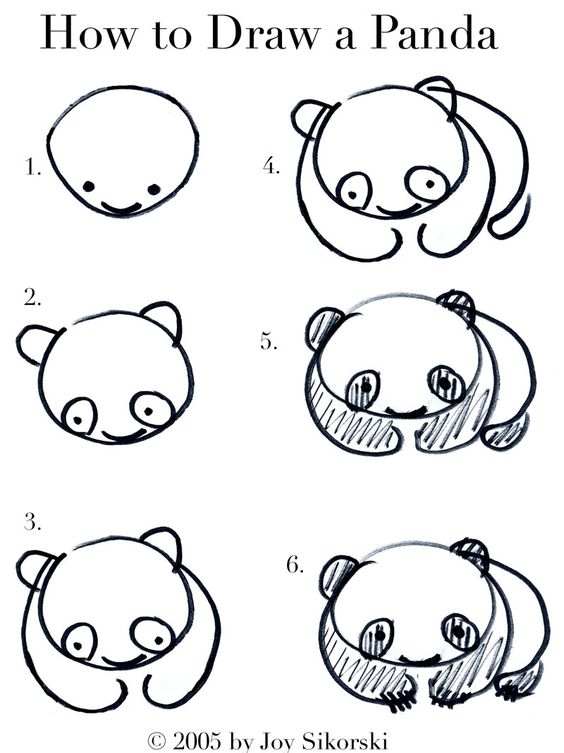 Populaire Get better at drawing!! :) | Little Things. | Pinterest | Panda  UR08