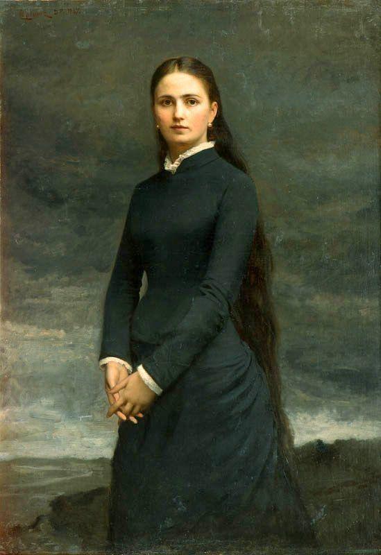 Девушка-Рапунцель с длинной косой и печальными глазами - графиня Изабелла Потоцкая. Она вышла замуж за своего дальнего родственника и однофамильца, Романа Потоцкого. Брак был заключен по любви. У красавицы Изабеллы было очень Ñрупкое здоровье. Она умерла всего через четыре месяца после свадьбы, ей…