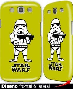 Carcasa Star Wars, Tropas de Asalto stormtroopers para el Samsung Galaxy S3…