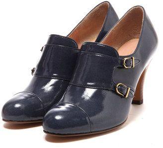 Patent leather booty / ShopStyle: Odette e Odile UNITED ARROWS オデット エ オディール ショートブーツ