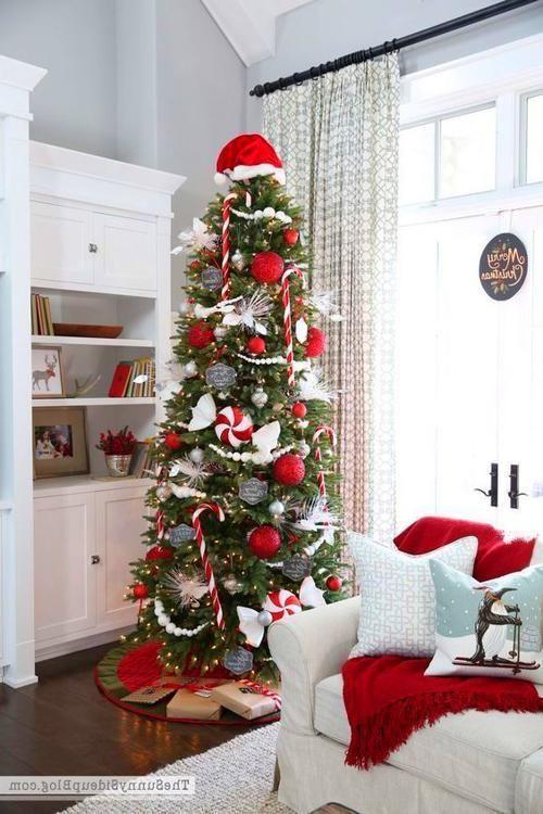Farmhouse Christmas Tree Creative Christmas Trees Skinny Christmas Tree Christmas Tree Themes