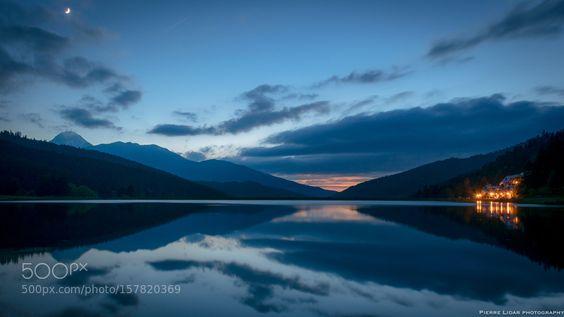 Calm Lake by pierrebassoon. @go4fotos