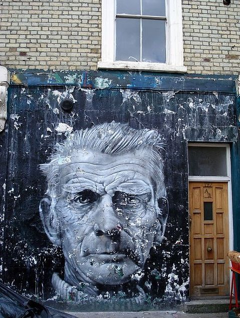 Samuel Beckett in London.