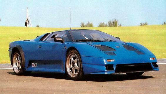 Bugatti concept EB 110