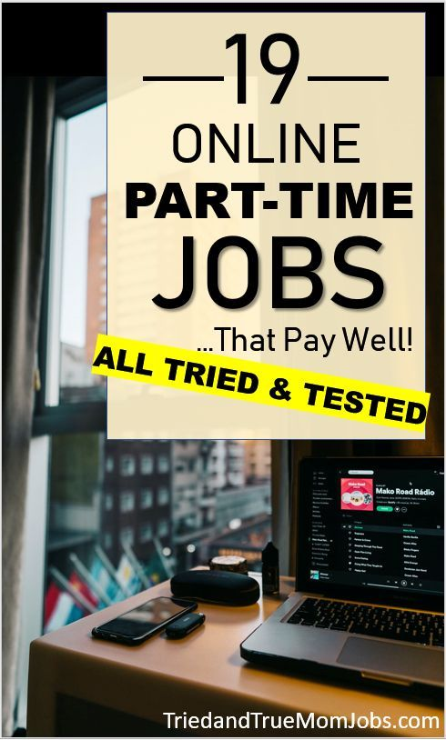 19 Best Part Time Online Jobs In 2020 That Pay Well Best Part