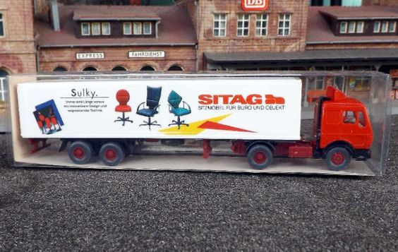 """542/8 Wiking Mercedes Benz 1626 S """"Sitag"""" TOPZUSTAND in ORK"""