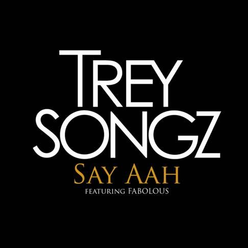 Trey Songz, Fabolous – Say Aah (single cover art)