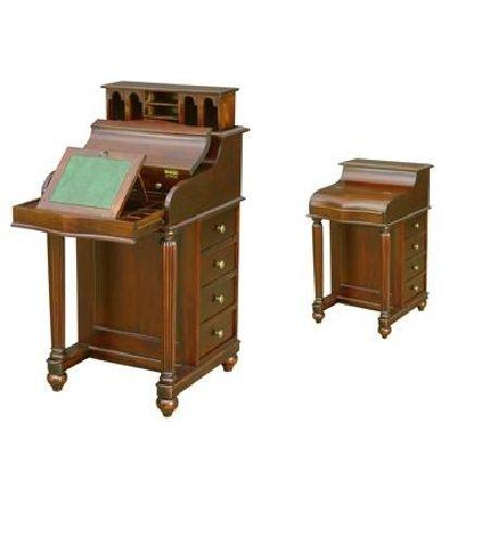 Escritorio bur estilo cl sico ideal para espacio for Mesas de estudio para espacios pequenos