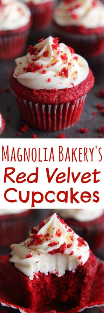 The BEST Red Velvet Cupcakes with Cream Cheese Frosting