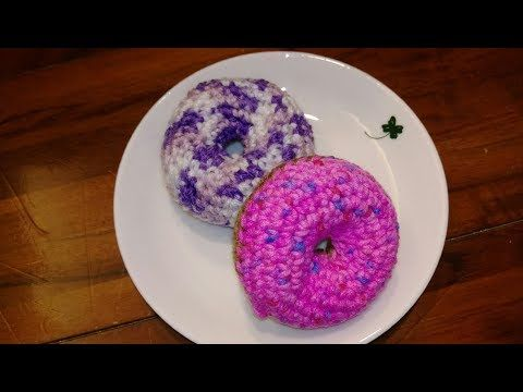 How to Crochet Donuts [Free Pattern] | 360x480