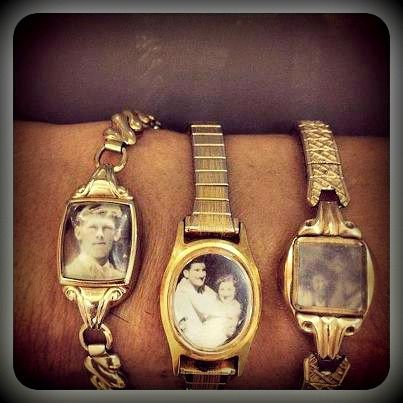Re-purpose old watches into lockets
