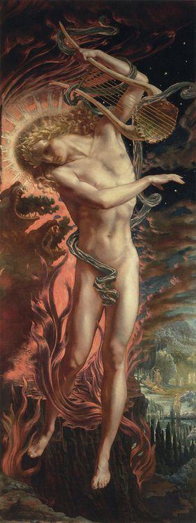 Orpheus by Jean Delville: