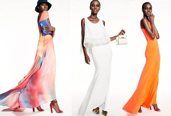Evening dresses by Zac Zac Posen  SS 2015