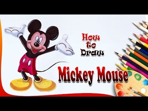 How To Draw Mickey Mouse Mickey Mouse Drawing Easy Drawing For Kids Mickey Mouse Drawings Mickey Mouse Drawing Easy Mouse Drawing