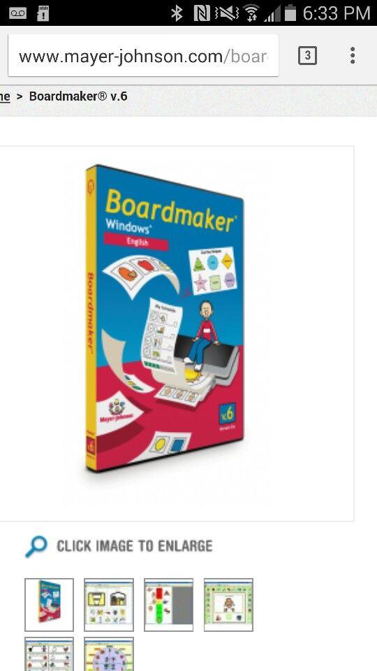 Boardmaker program