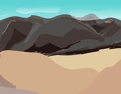 "Check out new work on my @Behance portfolio: ""Desert Environment"" http://be.net/gallery/33679584/Desert-Environment"