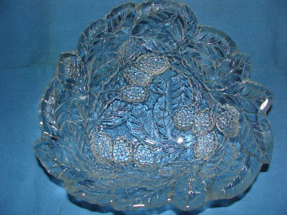 Vintage Indiana Glass  Loganberry Dish by EtagereLLC on Etsy, $14.00