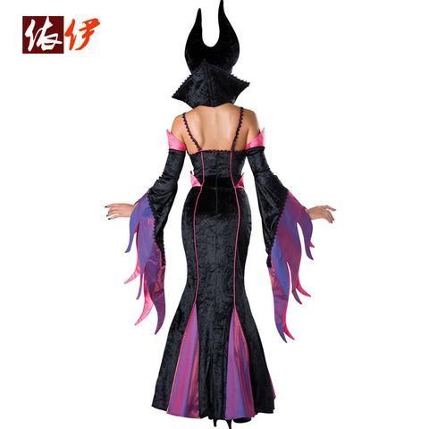 Fantasia Malévola (Maleficent) de Luxo Tamanhos M e L
